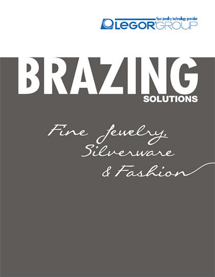 Brazing for jewerly